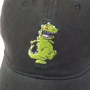 Nickelodeon Accessories - Nickelodeon Rugrats REPTAR | Black Adjustable Hat